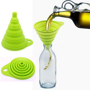 Collapsible Style Funnel Hopper - WuLee Chef - WuLee Chef