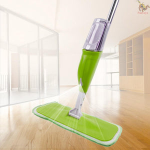 Spray Floor Mop with Reusable Microfiber Pads 360 Degree Handle Mop for Home Kitchen Laminate Wood Ceramic Tiles Floor Cleaning