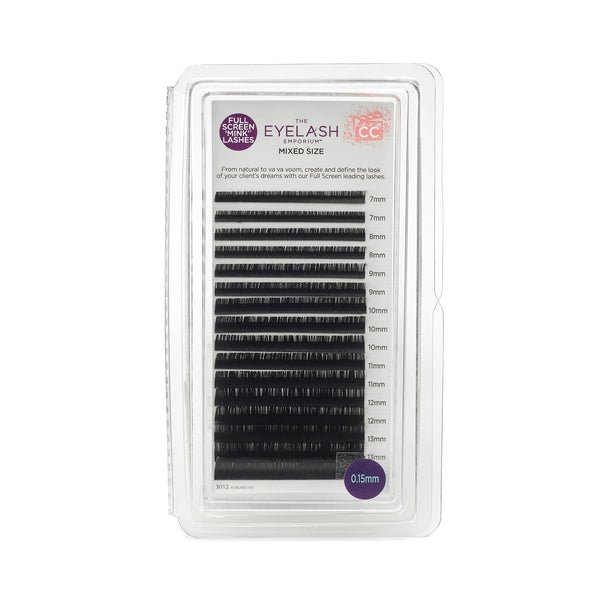 CC-Curl Mixed Length Lash Trays