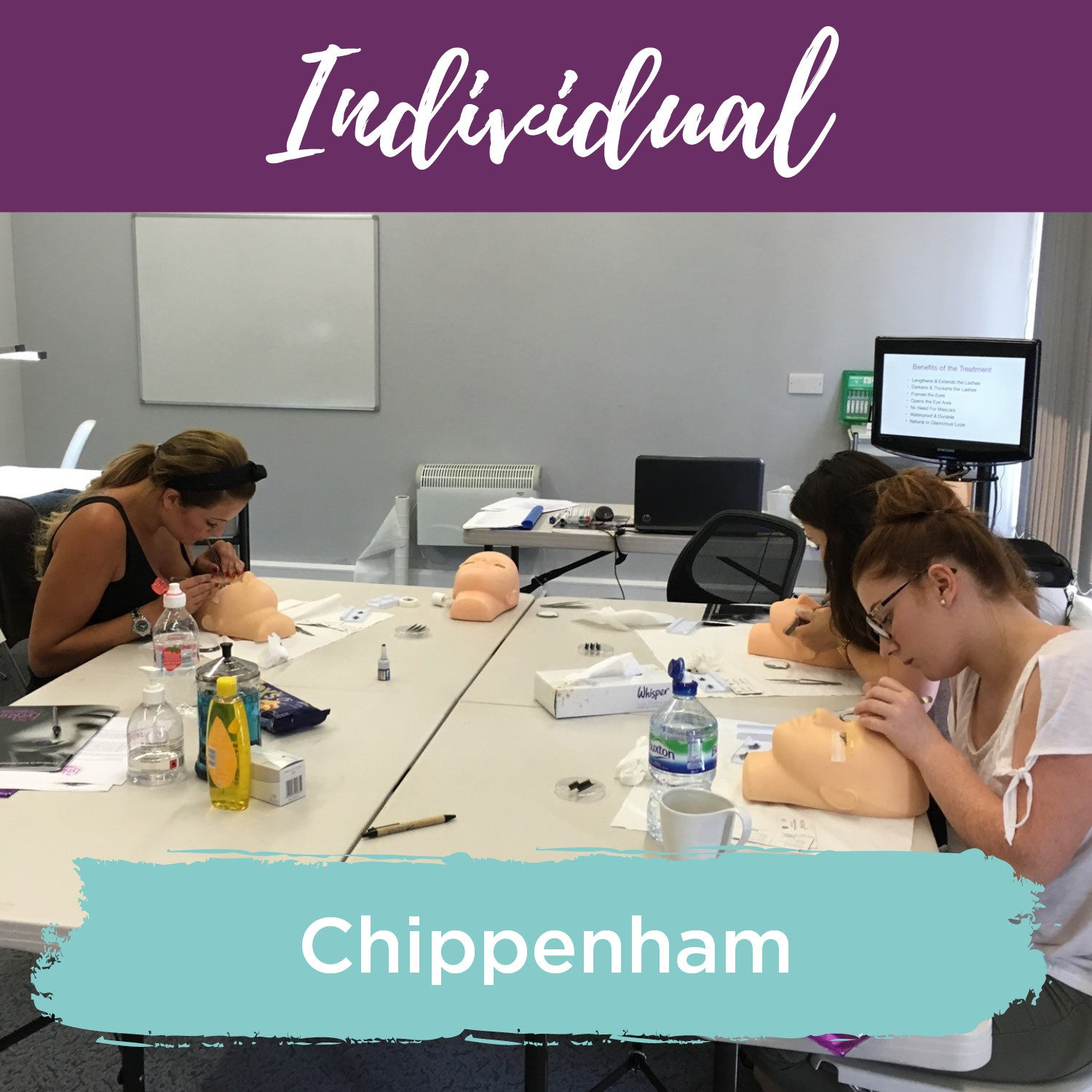 Classic Individual Eyelash Extension Training Chippenham