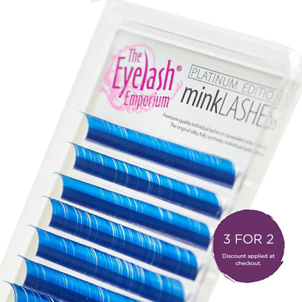 Coloured 'Mink' Lashes Mixed Lengths