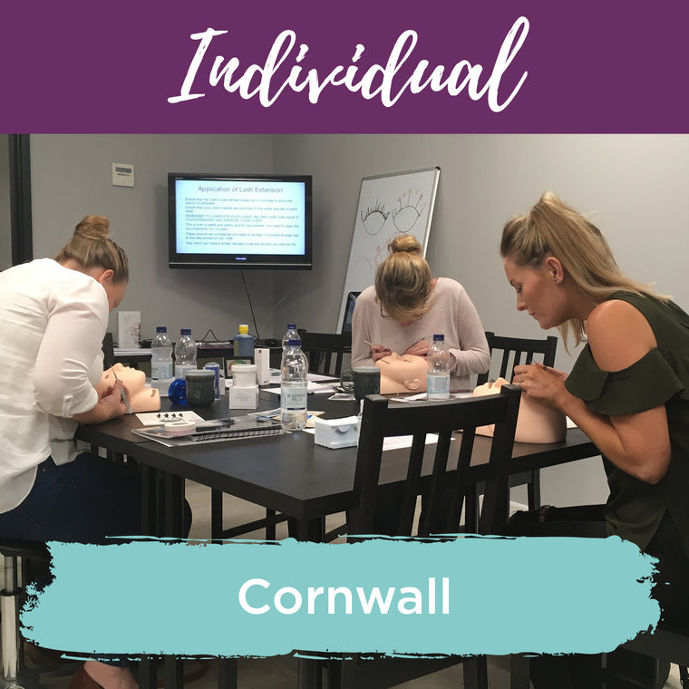 Classic Individual Eyelash Extension Training Cornwall