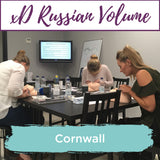 Special Effects xD Russian Volume Eyelash Extension Training Cornwall