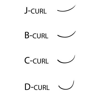 Opening Curtain D-Curl Lashes (Mixed Lengths)