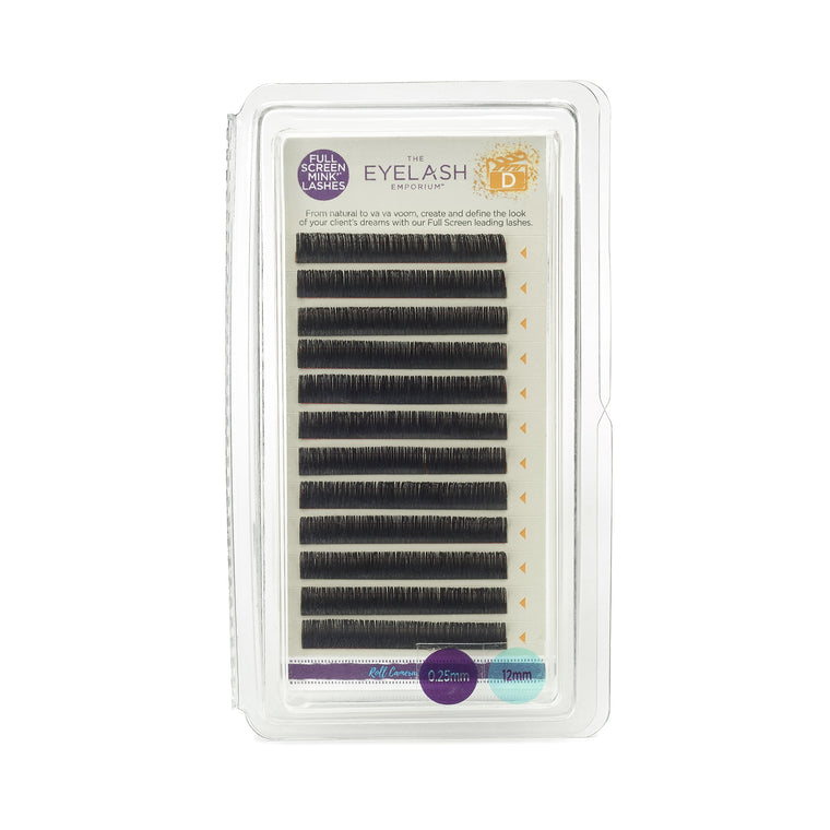 D-Curl Full Screen Express Lashes (Individual Lengths)