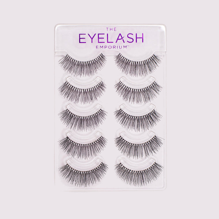 Human Hair Lashes For Training (Pack of 10)