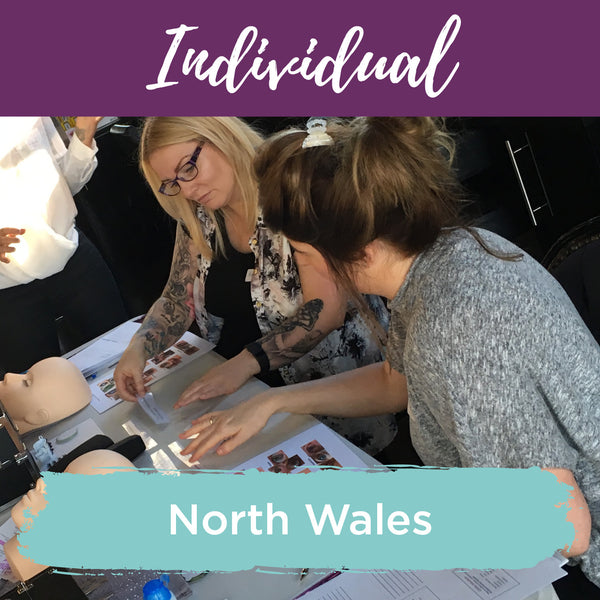 Classic Individual Eyelash Extension Training North Wales
