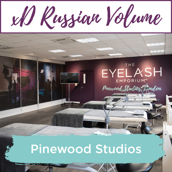 Special Effects xD Russian Volume Eyelash Extension Training Pinewood Studios, London