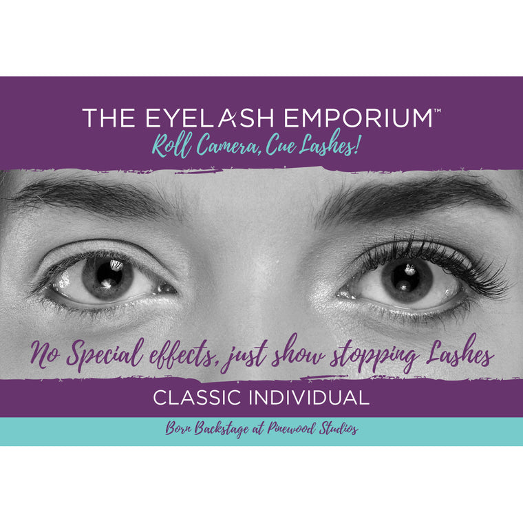 Classic Individual Lashes Poster