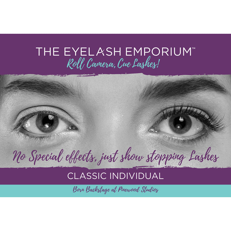 Classic Individual Lashes Strut Card
