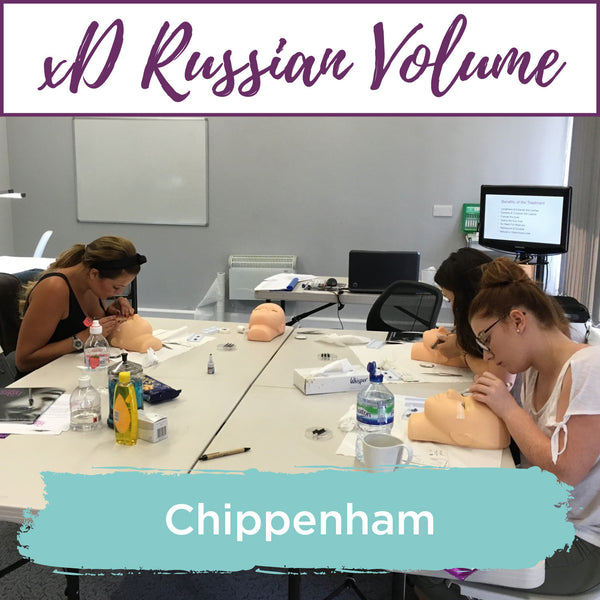 Special Effects xD Russian Volume Eyelash Extension Training Chippenham