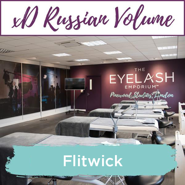 Special Effects xD Russian Volume Eyelash Extension Training Flitwick