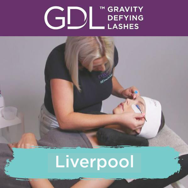 Gravity Defying Lashes Training Liverpool