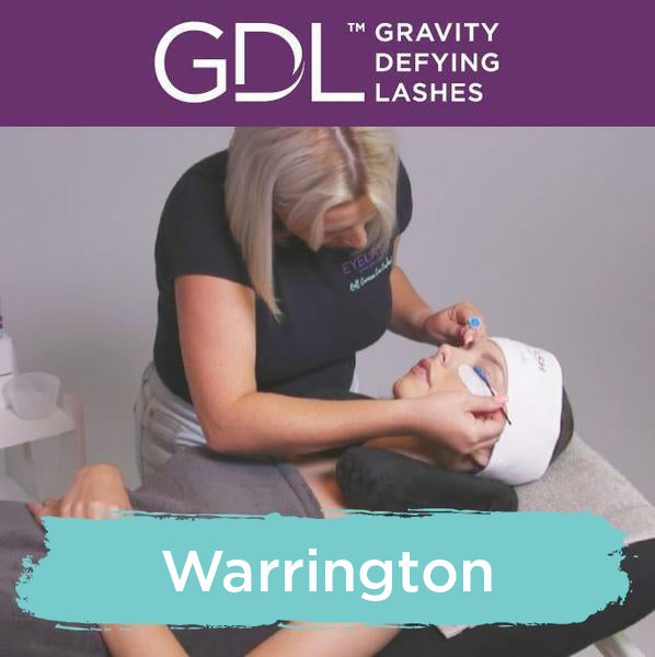 Gravity Defying Lashes Training Manchester