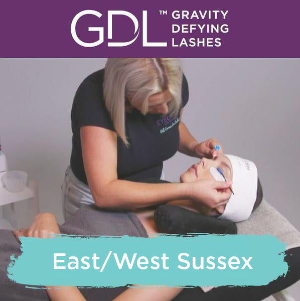 Gravity Defying Lashes Training in East/West Sussex