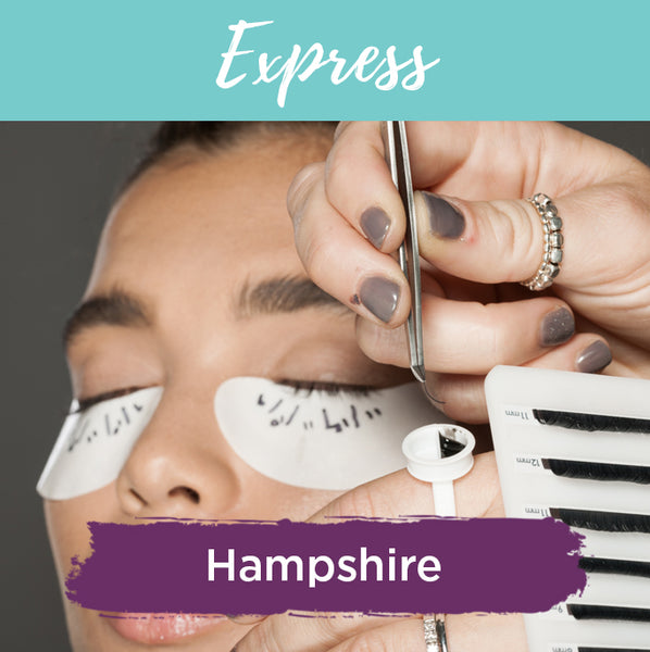 Fast Motion Express Eyelash Extension Training in Hampshire