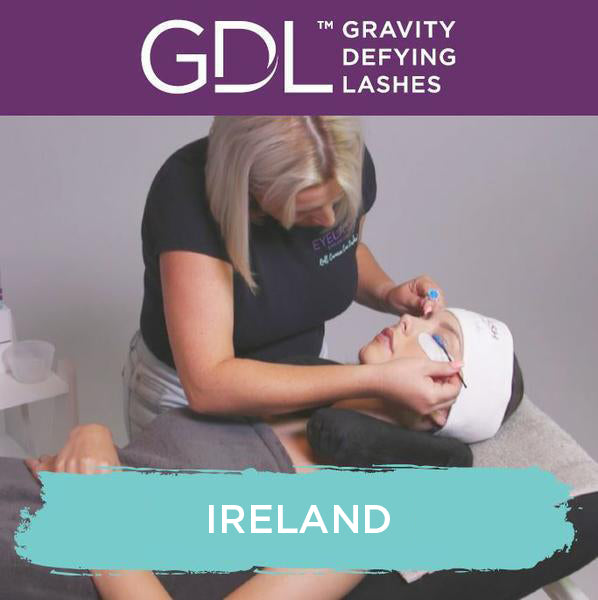 Gravity Defying Lashes Training in Ireland