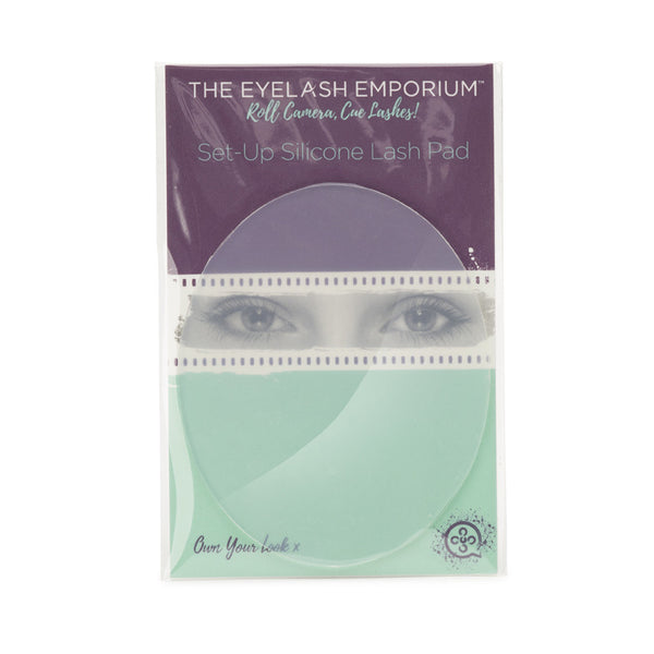 Set-Up Silicone Lash Pad in packaging