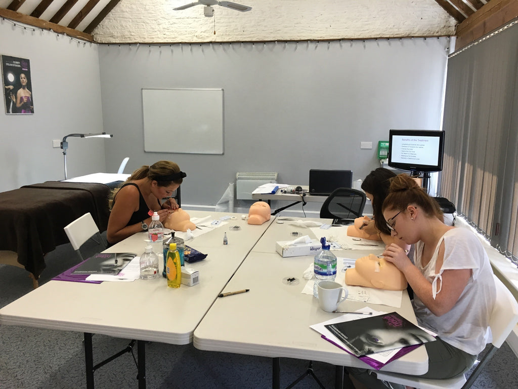 Individual Eyelash Extension Training Course In Chippenham The