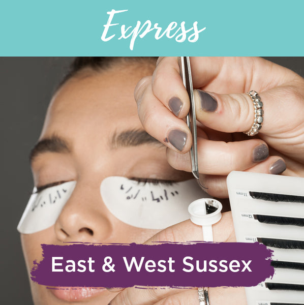 Fast Motion Express Eyelash Extension Training Sussex