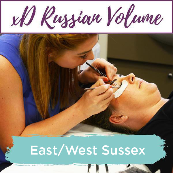 Special Effects xD Russian Volume Eyelash Extension Training East/West Sussex