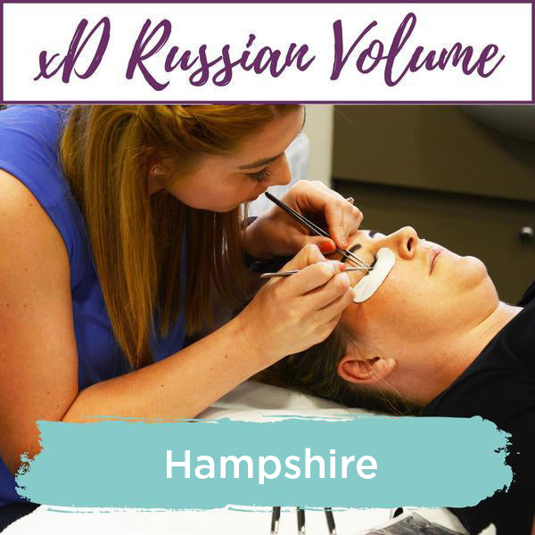 Special Effects xD Russian Volume Eyelash Extension Training Hampshire