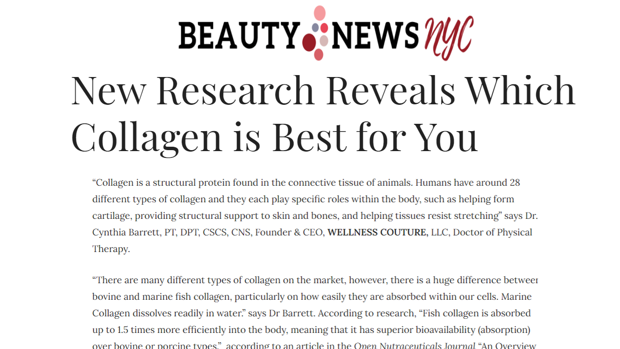 New Research Reveals Which Collagen is Best for You
