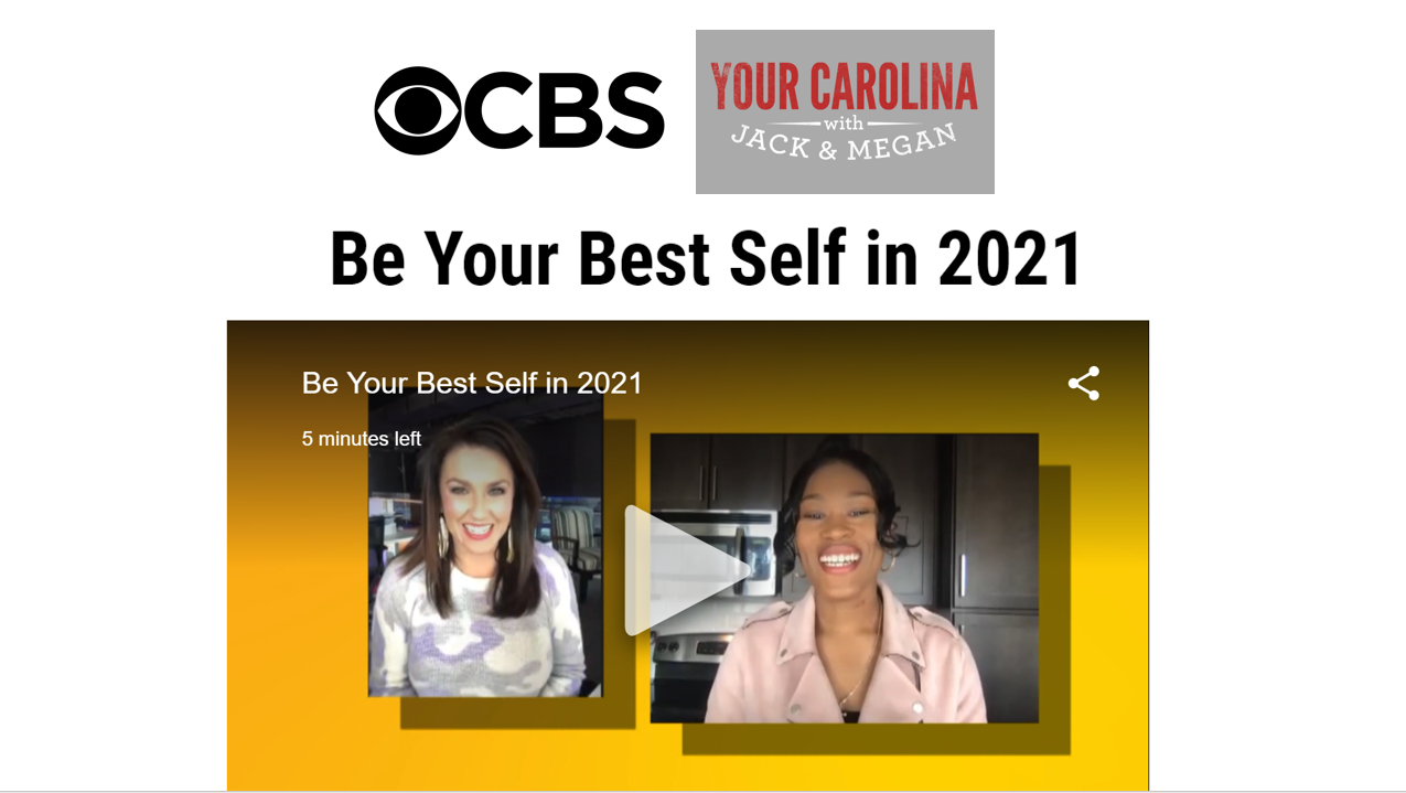 Be Your Best Self in 2021