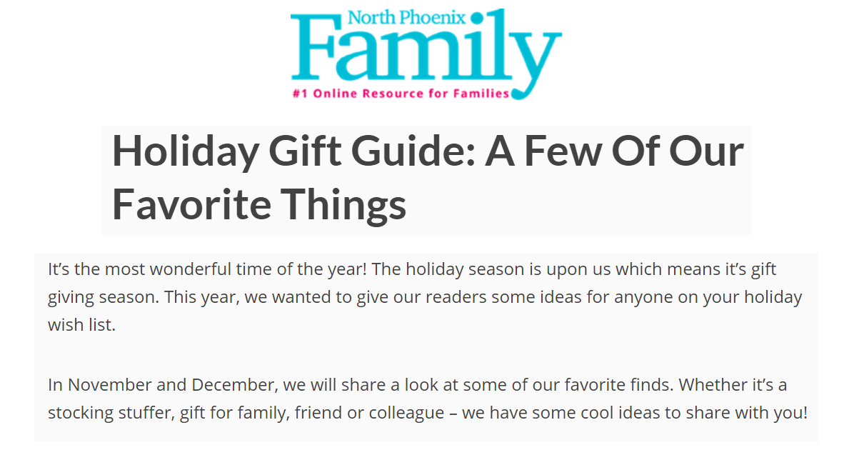 Holiday Gift Guide: A Few Of Our Favorite Things