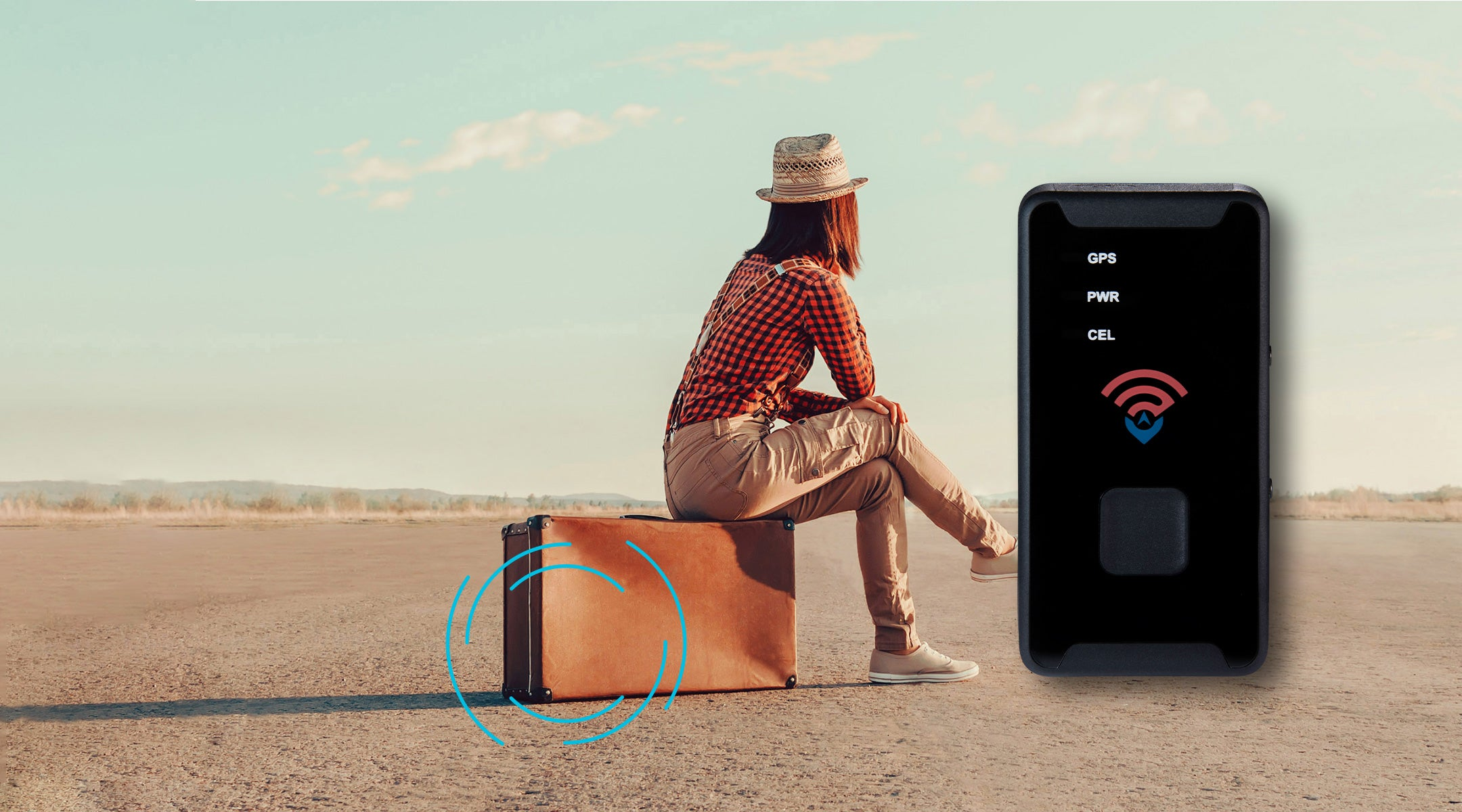 Discreetly track and map people, valuables, and vehicles in real-time with the GL300 Real Time GPS Tracker