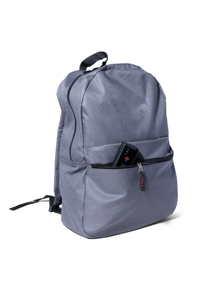 GPS Tracker in Backpack