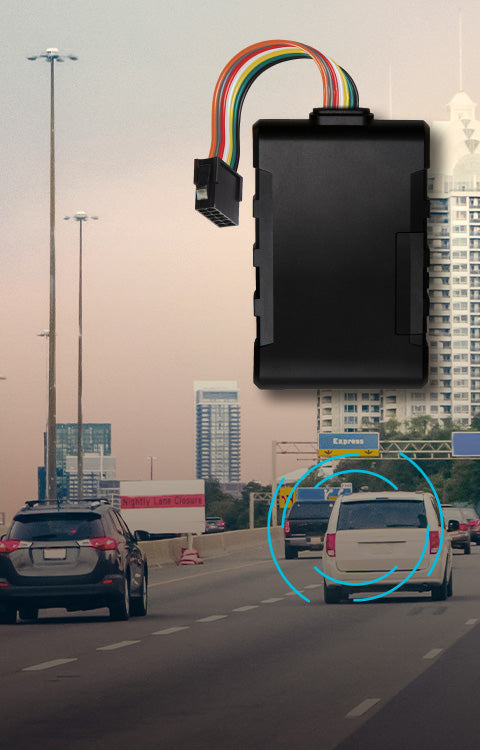 A GPS tracker that plugs into your car's OBD port, for advanced vehicle analytics.