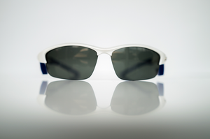 GalaxyEyes Sunglasses (White and Blue)