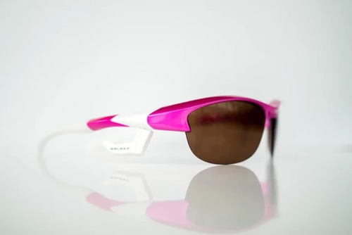 GalaxyEyes Sunglasses (Pink and White)