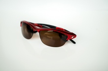 Load image into Gallery viewer, GalaxyEyes Sunglasses (Red and Black)