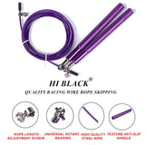 Ultra Speed Ball Bearing Skipping Rope - Steel Wire