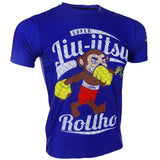 The Soft Monkey Fighter Comes Out of the Sport - Elastic T-shirt