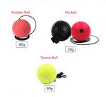 Reaction Speed Ball with Adjustable Headband