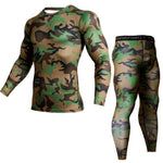 Compressed MMA Rashguard Kit - Tactical/Camouflage