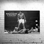 "Muhammad Ali KO Motivational Silk Poster 13x20"" Room Decor"