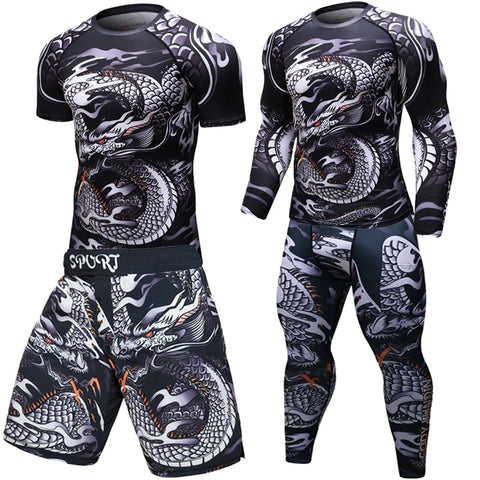 Brand New UFC MMA Dragon Rashguard
