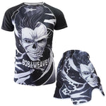 Skull MMA Boxing Cotton Breathable Cotton Shorts