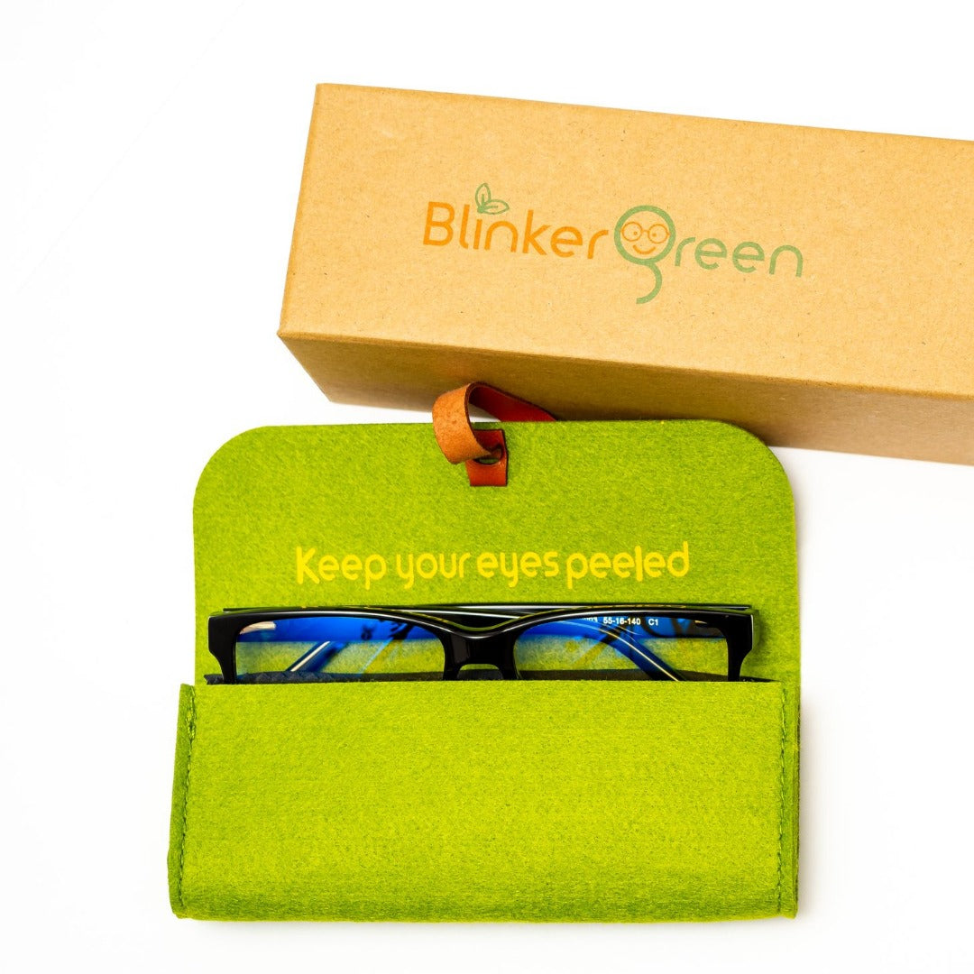 BlinkerGreen Blue Light Blocking Glasses