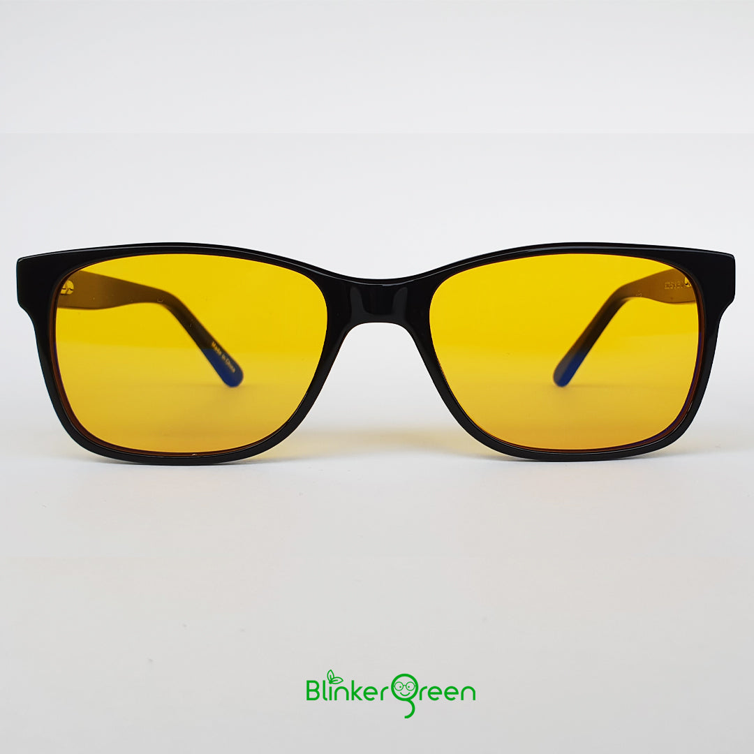 BlinkerGreen - hypoallergenic computer and gaming glasses with blue light filter