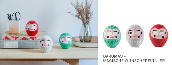 Daruma magic wish granter