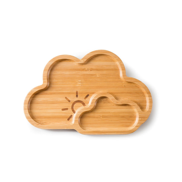 Bamboo Plate Cloud Nine