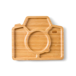 Bamboo Plate Snap & Smile