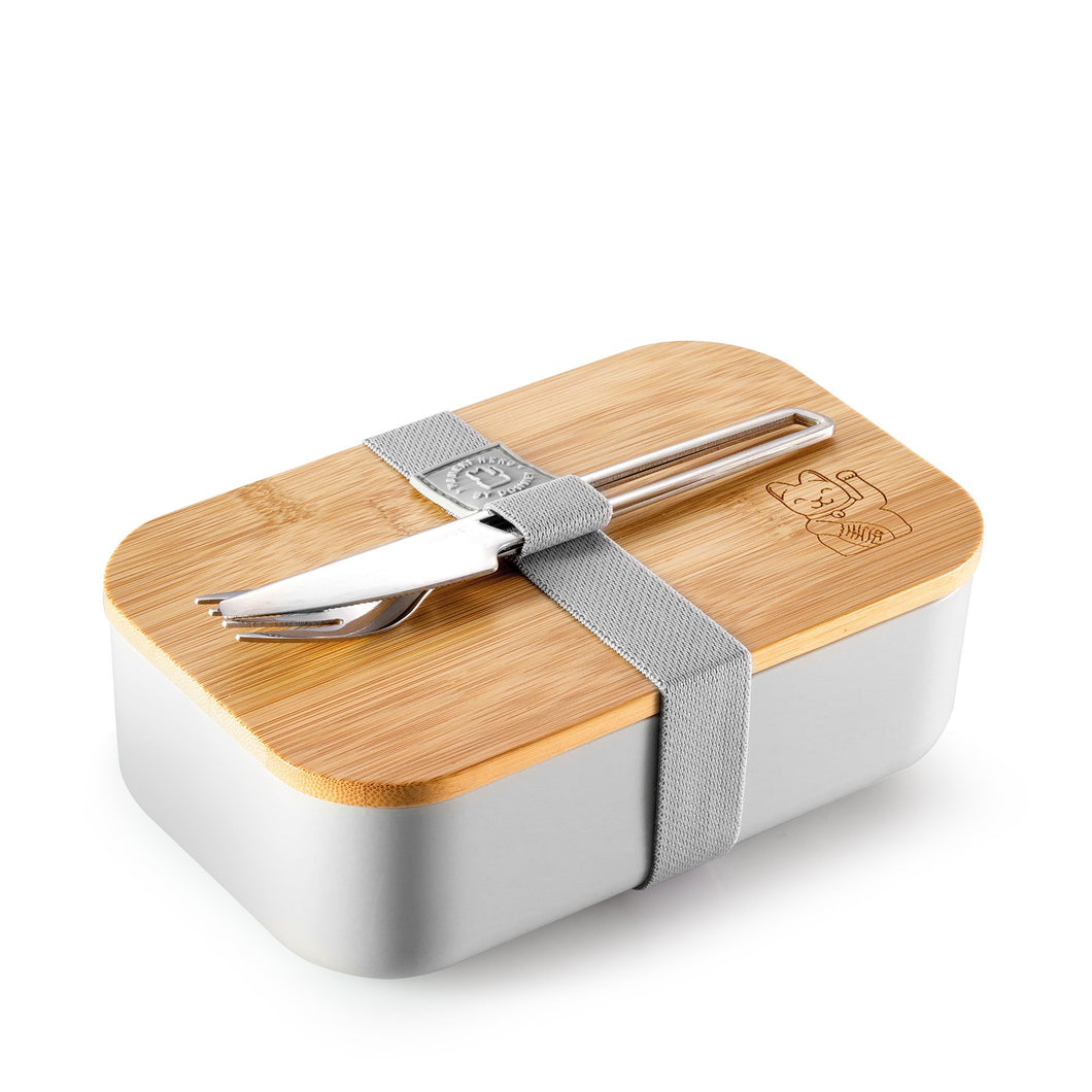 MANEK INEKO Lunchbox | Grau
