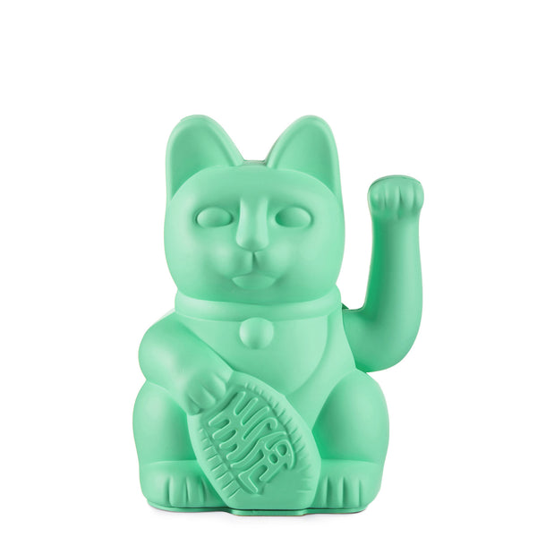 Lucky Cat | Mint Green