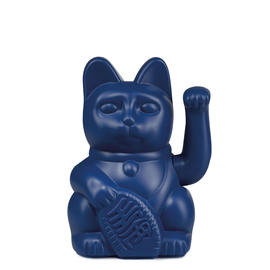 Lucky Cat | Dark Blue
